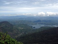 Adams Peak view