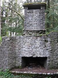 Bullitt fireplace