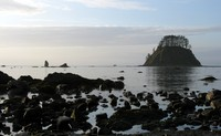 Cape Alava still waters and rocks