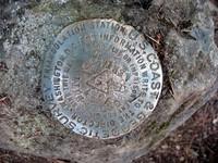 Cedar Butte geodetic marker