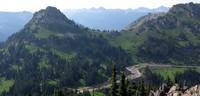 Chinook Pass from Naches Peak
