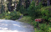 Eleanor Lake trailhead