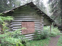 Huckleberry Creek NPS cabin