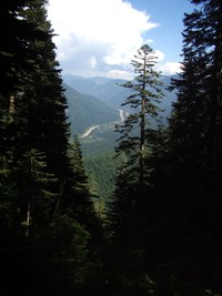 I90 from  McClellan Butte trail