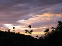 Iron Horse trail sunset