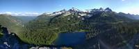 Louise Lake below Pinnacle Peak