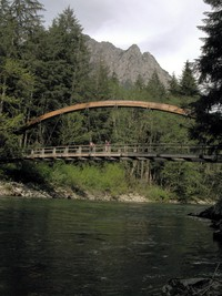 Middle Fork Snoqualmie bridge