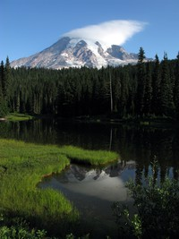 Mt Rainier Reflection Lake