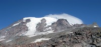 Mt Rainier from Camp Muir trail