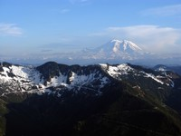 Mt Rainier from Mail Box Peak