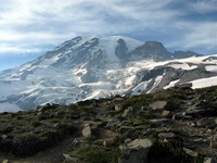 Mt Rainier from above Paradise