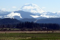Mt Rainier from near Enumclaw