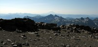 Mt St Helens from Camp Muir trail