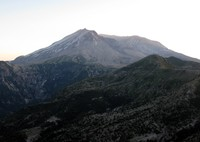 Mt St Helens from near WIndy Pass