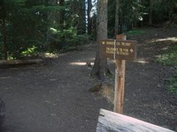 Ranger Creek trail