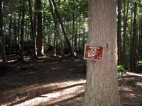 Ranger Creek trail sign