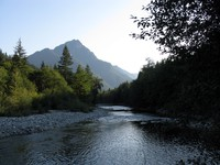 Russian Butte over Middle Fork