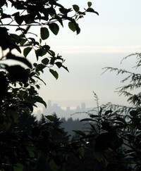 Seattle from Squak Mt