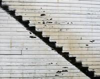 Skykomish Hotel stairs