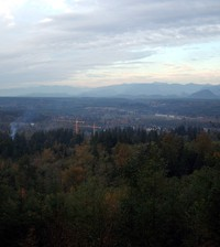 Snoqualmie Valley from Rattlesnake Mountain