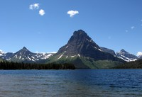 Two Medicine Lake and Sinopah Mountain