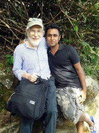 alex with Shehan Kosala  met on Adams Peak trail