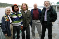 angela heather shawn eric alex on bremerton ferry