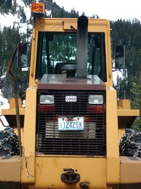 chinook pass snow plow