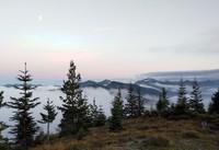cloudy hills from Suntop