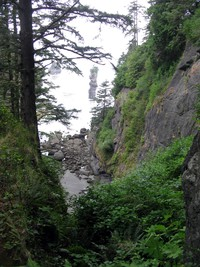 down to Cape Flattery inlet