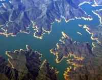 fractal Shasta Lake