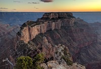from Cape Royal north rim Grand Canyon