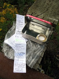 geocache MMT Hwy 410 Chinook Pass con