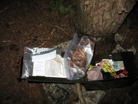 geocache Top of Teneriffe con