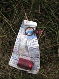 geocache in the loop con