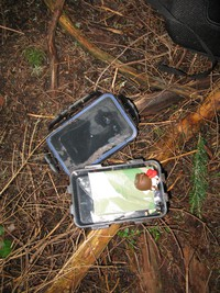 geocache lil tiger trail con