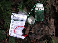 geocache one degree of separation tree farm n20 con