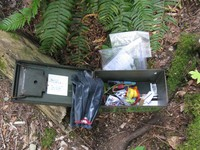 geocache post roundup con