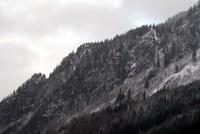 grey skykomish hills