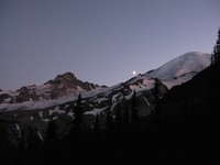 half moon Rainier