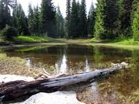 lake above Cayuse Pass