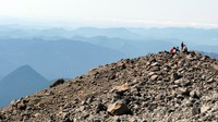 lull in Camp Muir trail