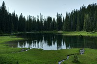 mosquitos and Hen Skin Lake