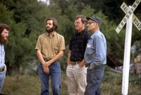 Alex and Tom Jackson and Mike Strom and some guy 1974
