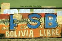 Bolivian wall graffiti 1980