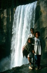 Heather Imani Summer Yosemite waterfall