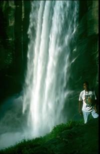 Imani Yosemite waterfall