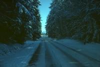 Important Road snow