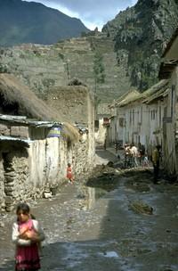 Ollantaytambo Peru 1980