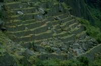 Ollantaytambo Peru terraces 1980